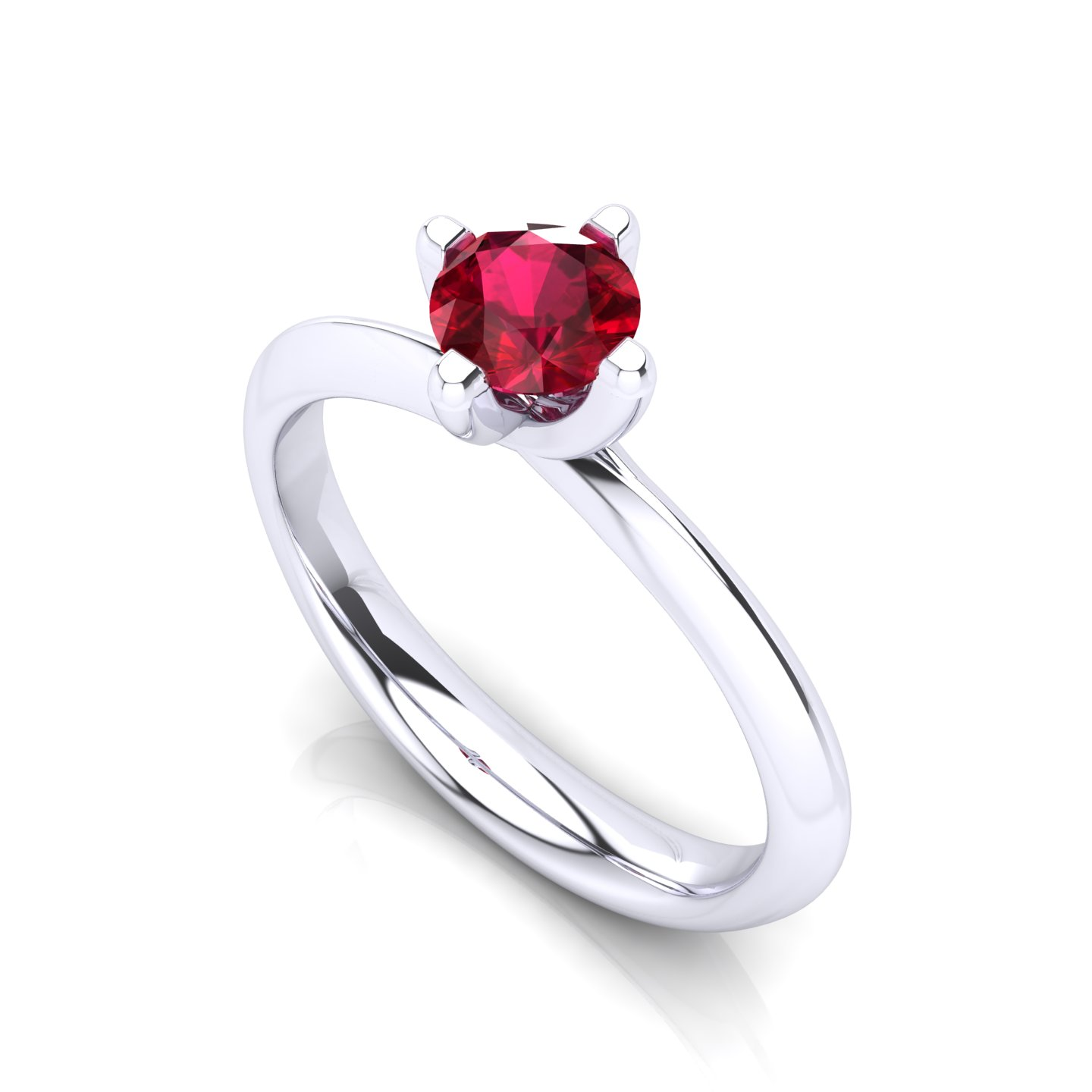"Anello Solitario ""Rose"""