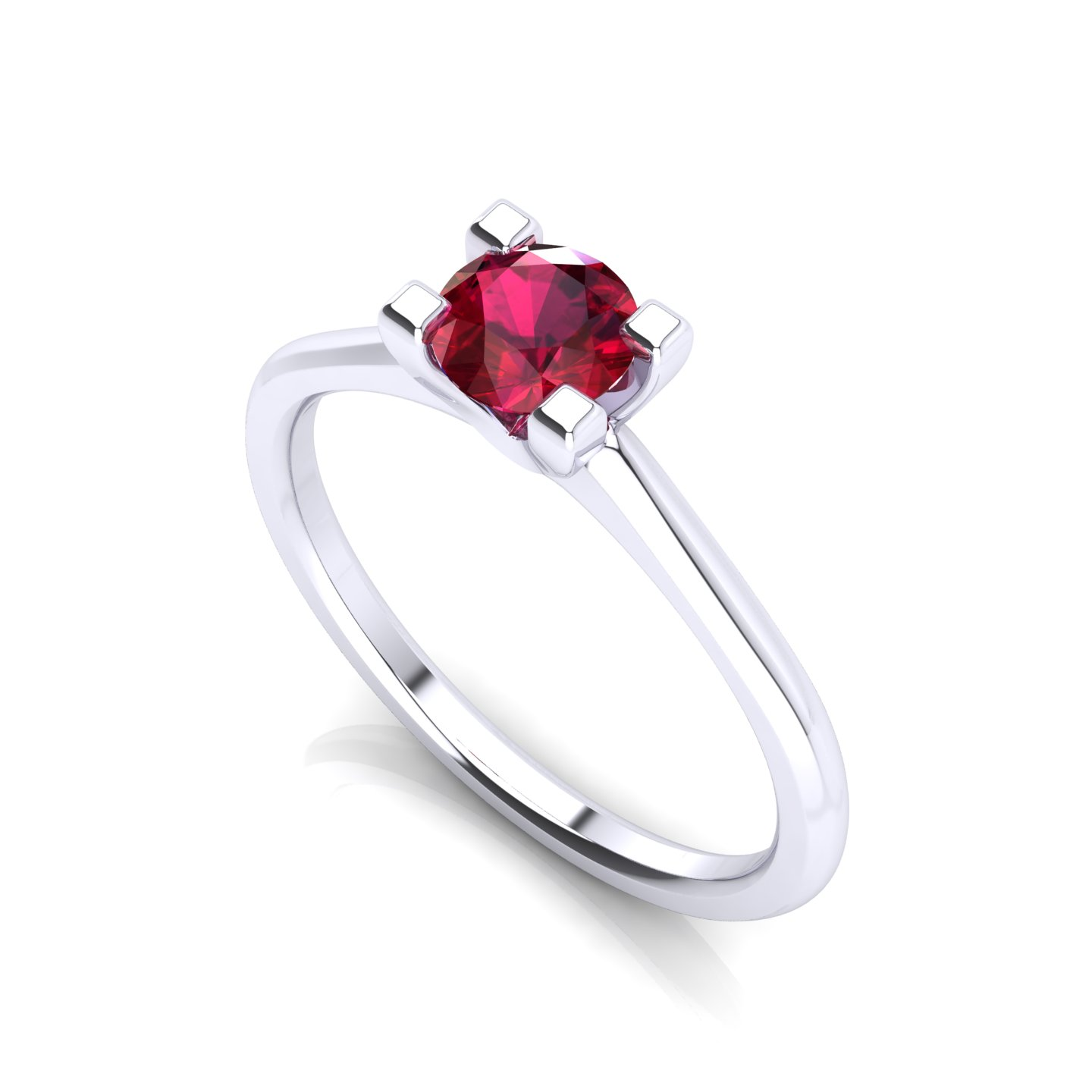 """Solitaire Ring """"Marigold"""""""