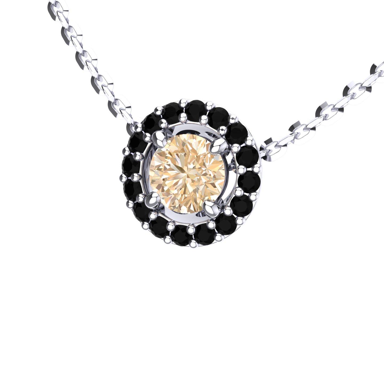 "Necklace Multi JemStones ""Cornflower"""